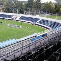 Photo taken at Estadio 10 de Diciembre by Raul Ruiz Arellano on 8/24/2013