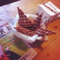 Photo taken at Cafe der Provinz by Ellie on 4/10/2013
