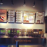 Photo taken at Which Wich? Superior Sandwiches by Erin R. on 6/23/2013