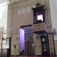 Photo taken at Masjid Al-Ehsan Sg Pelek by Yusuf Adam B. on 9/7/2013
