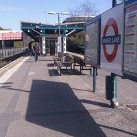 Photo taken at Hanger Lane London Underground Station by Gloria C. on 5/2/2013