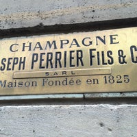Photo taken at Joseph Perrier Fils & Co. by JJ M. on 4/23/2016