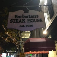 Photo taken at Barberian's Steak House by Steve G. on 10/28/2017