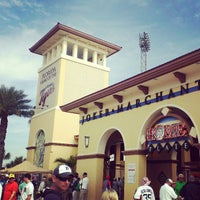 Photo taken at Publix Field at Joker Marchant Stadium by Mac S. on 3/17/2013