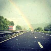 Photo taken at Confine Umbria-Lazio by Andrea B. on 5/8/2013
