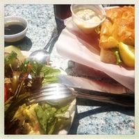 Photo taken at Aldo's Harbor Restaurant by Trinity C. on 9/17/2012