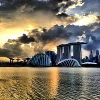 photo taken at bay east gardens by the bay by michael on 1