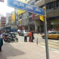 Photo taken at Jalan Hang Lekiu by !!!NiZaM® on 2/7/2014
