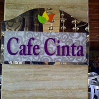 Photo taken at Cafe Cinta by ferry i. on 5/7/2013