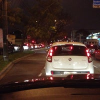 Photo taken at Avenida Silva Jardim by Athos on 9/5/2014