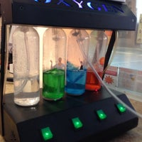 Photo taken at oxygen bar on freemont by Molly G. on 1/10/2014