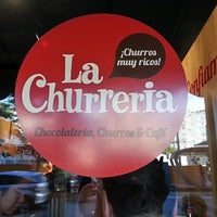 Photo taken at La Churreria by Jacq M. on 11/15/2013
