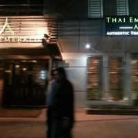 Photo taken at Thai Emerald by Shahriar H. on 3/28/2013