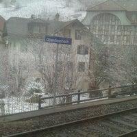 Photo taken at Bahnhof Oberdiessbach by Engelchen m. on 3/26/2013