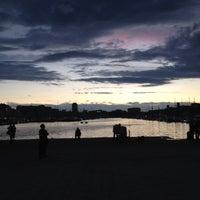 Photo taken at New Hotel Vieux Port by Reinaldo S. on 10/6/2013