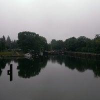 Photo taken at Spreebrücke by Nicole W. on 5/30/2013