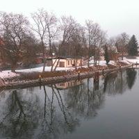 Photo taken at Spreebrücke by Nicole W. on 2/22/2013