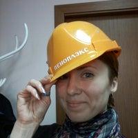 Photo taken at ПЕНОПЛЭКС (производство лучшего XPS)! by Ирина Д. on 1/15/2014
