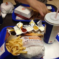 Photo taken at Burger King by Fırat U. on 5/1/2013