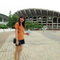 Photo taken at Sports Authority of Thailand by Gannika P. on 6/23/2013
