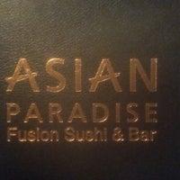 Photo taken at Asian Paradise Fushion Sushi Bar by Helena S. on 1/24/2015