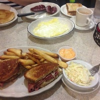 Photo taken at New Colony Diner by Lulu on 4/26/2013