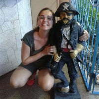 Photo taken at Pirate's Inn Hotel by Rômulo Z. on 7/1/2013