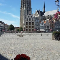 Photo taken at Grote Markt by Diego V. on 8/3/2015