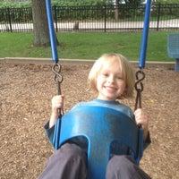 Photo taken at DeMun Park by Stephen R. on 9/16/2012