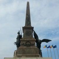 Photo taken at Monumentul Independentei by Alexandru N. on 6/8/2013