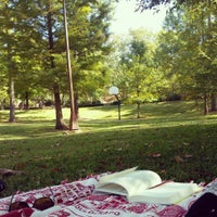 Photo taken at Rushton Park by Marlynn W. on 10/21/2014