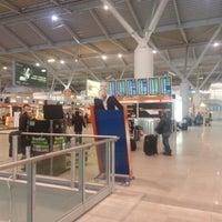 Photo taken at Terminal A by Grzegorz K. on 2/25/2013