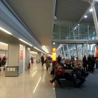 Photo taken at Terminal A by Grzegorz K. on 1/25/2013