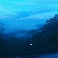 Photo taken at Shawnee State Park Lodge by Bryan N. on 5/8/2013