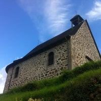 Photo taken at La Chapelle du Calvaire by Guillaume W. on 9/14/2014