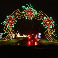 Photo taken at Lights On The Lake by Jackie W. on 1/3/2013