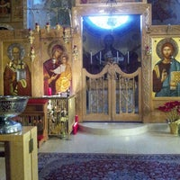 Photo taken at St. Nicholas Albanian Orthodox Church by Gus D. on 2/24/2013