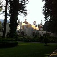 Photo taken at Ex Convento del Desierto de los Leones by Abimelec O. on 1/16/2013