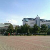 Photo taken at ТЦ «Оскол» by Marina on 8/23/2013