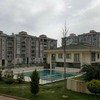 Photo taken at Selin Evleri Satış Ofisi by Cinar K. on 3/8/2016