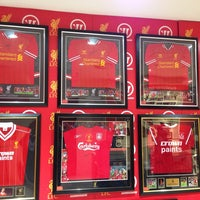 Photo taken at Liverpool FC Official Club Store by Bram on 1/18/2014