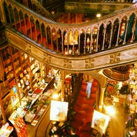 Photo taken at Livraria Lello by Maria S. on 4/22/2013
