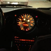 Photo taken at Driving Karly's Mini Cooper! by Yoshua V. on 12/23/2012