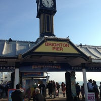Photo taken at Brighton Palace Pier by Follow K. on 5/27/2013