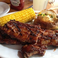 Photo taken at Texas Ribs® by Monsweet C. on 8/16/2013