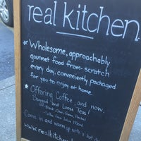Photo taken at Real Kitchen by radstarr on 2/22/2017