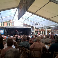 Photo taken at Sint-Veerleplein by Caty H. on 7/19/2017
