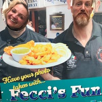 Photo taken at D Fecci & Sons Fish & Chip Shop by Gareth R. on 8/25/2017