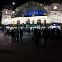 Photo taken at Basel SBB Railway Station by Maira Angélica F. on 1/5/2013
