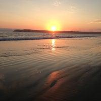 Photo taken at Coronado Beach by Galen D. on 9/10/2013